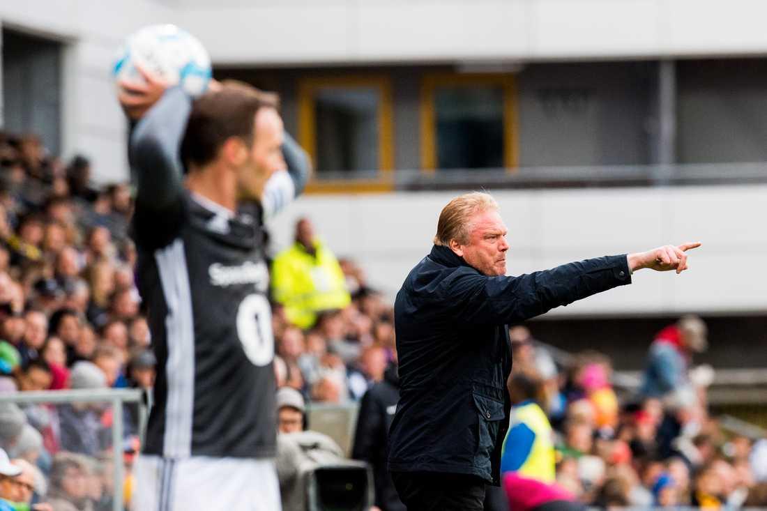 Förra helgen spelade Rosenborg 1–1 mot Jörgen Lennartssons Lilleström.