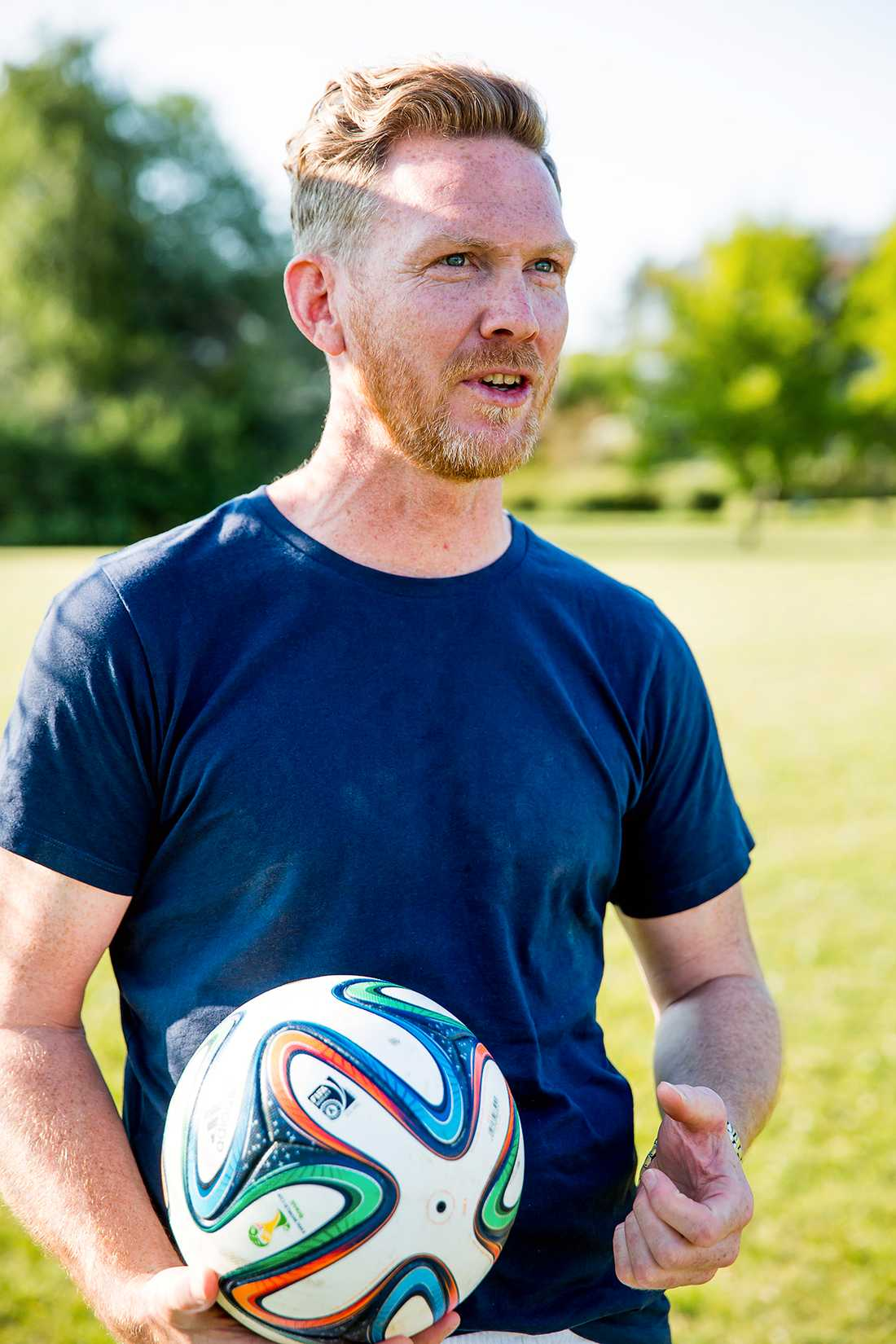 Björn Levin var tidigare målvakt i Allsvenskan för Trelleborg FF.