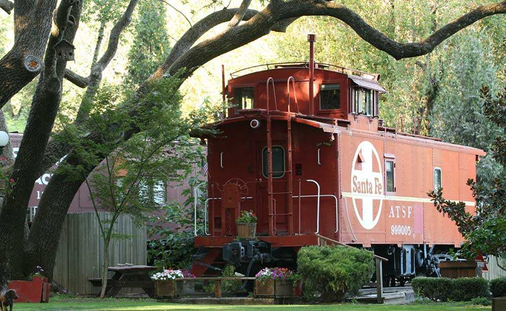Featherbed Railroad Bed and Breakfast Resort.
