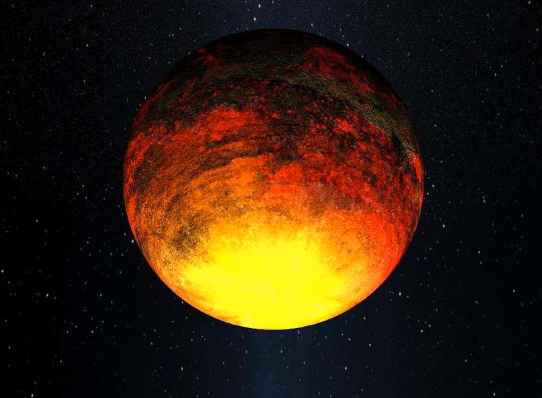 NASA:s nya fynd Den 9 mars 2011 släppte NASA den här målningen av ett av Keplerteleskopets fynd: Kepler-10b, en planet som mäter 1,4 gånger jordens storlek och med en temperatur av 1371 grader celsius.