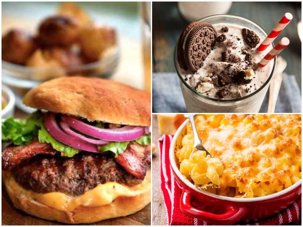 Stekt, sött, salt, grillat och lite frityr. Grunden till det amerikanska köket.