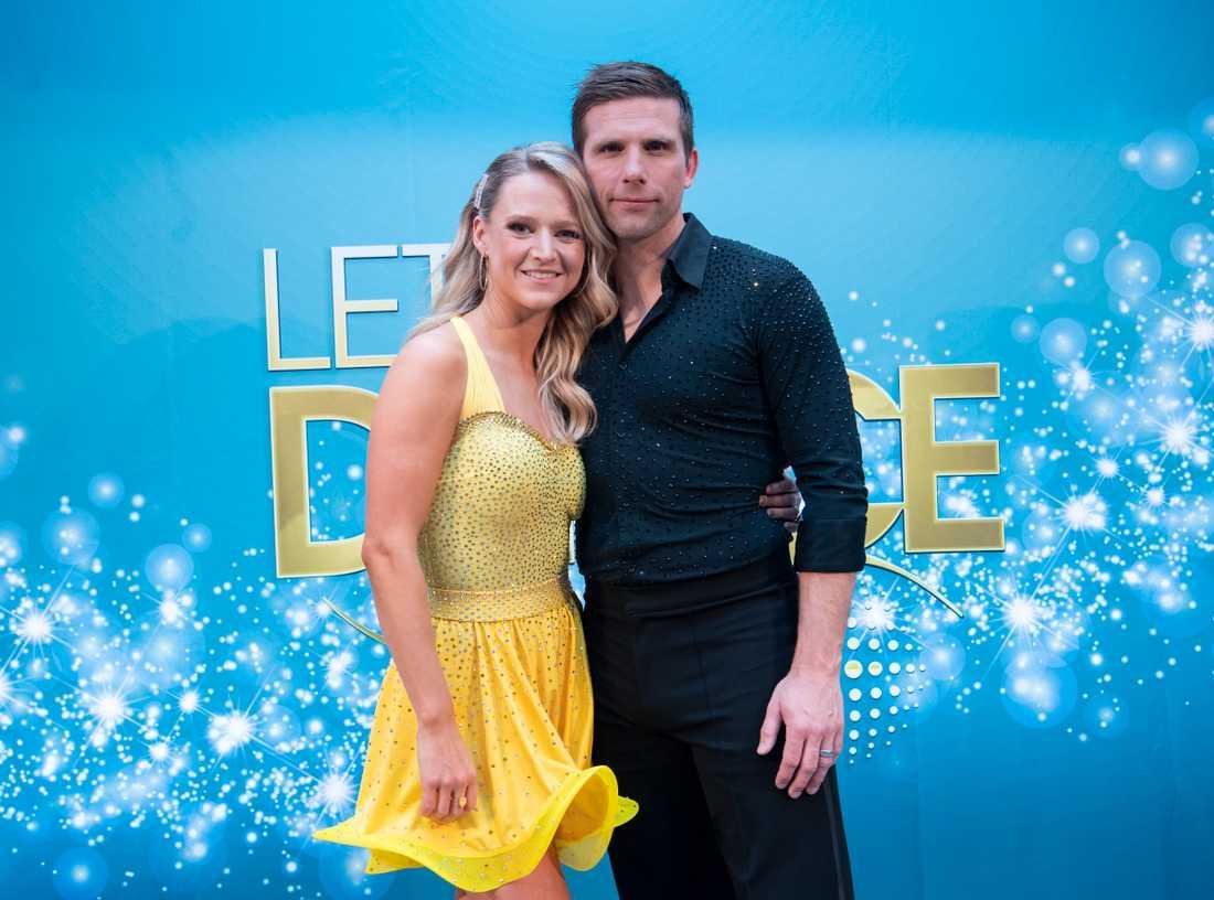 """Anders Svensson och Maria Zimmerman framför en american smooth i veckans """"Let's dance"""". Arkivbild."""