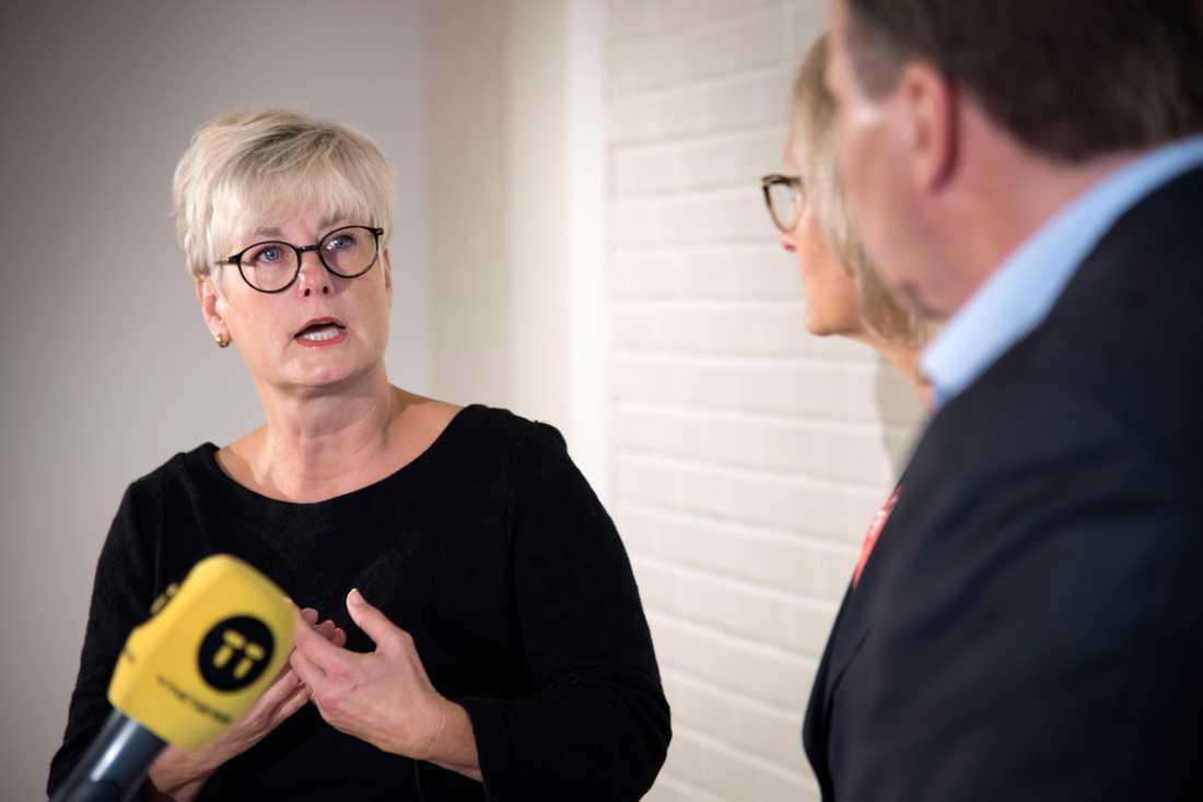 Hyresgästföreningens ordförande Marie Linder.