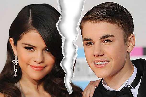 Justin Bieber och Selena var ett par i nästan två år.