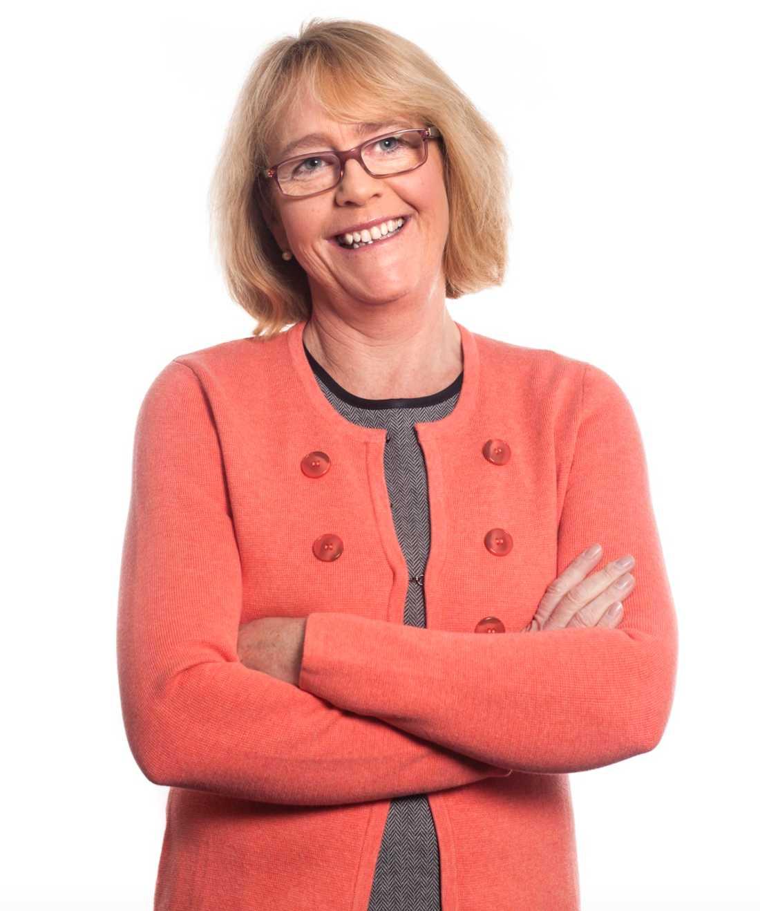 Irene Svenonius (M) är finanslandstingsråd och ansvarig för personalfrågorna i landstinget i Stockholm.