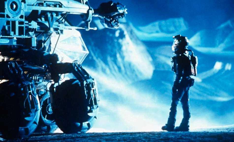 I filmen Armageddon landar astronauter och oljeborrare på en asteroid.