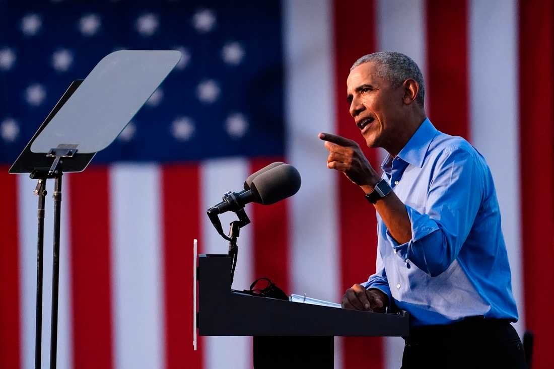 Barack Obama kliver in som draglok i kampanjen.