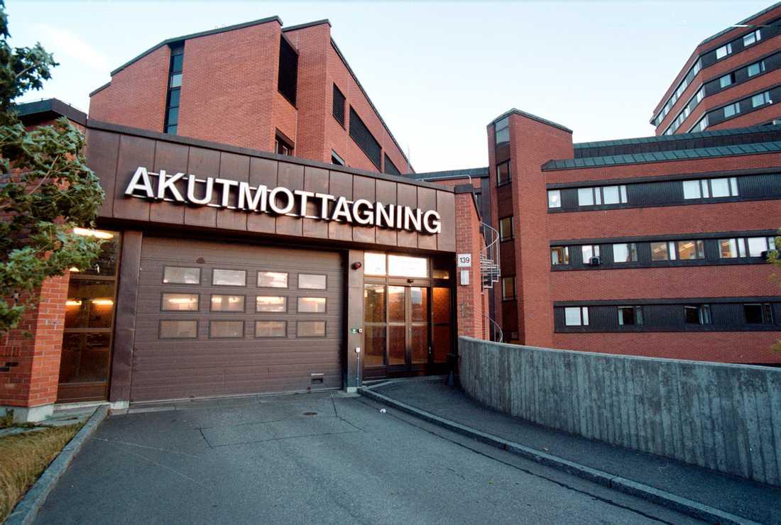 S:t Görans sjukhus i Stockholm.
