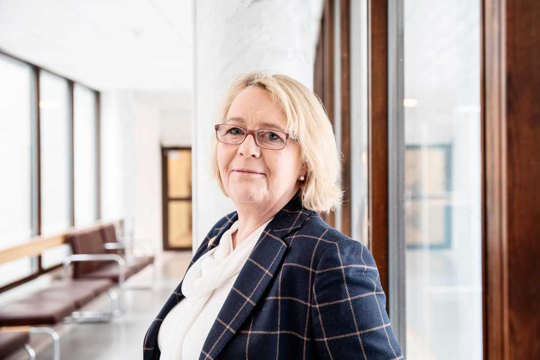 Irene Svenonius (M), finansregionråd i region Stockholm. Arkivbild.