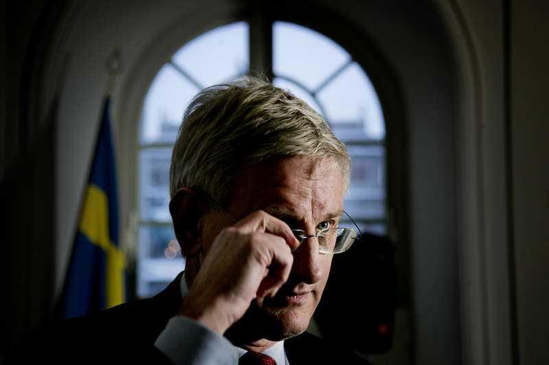 Utrikesminister Carl Bildt.