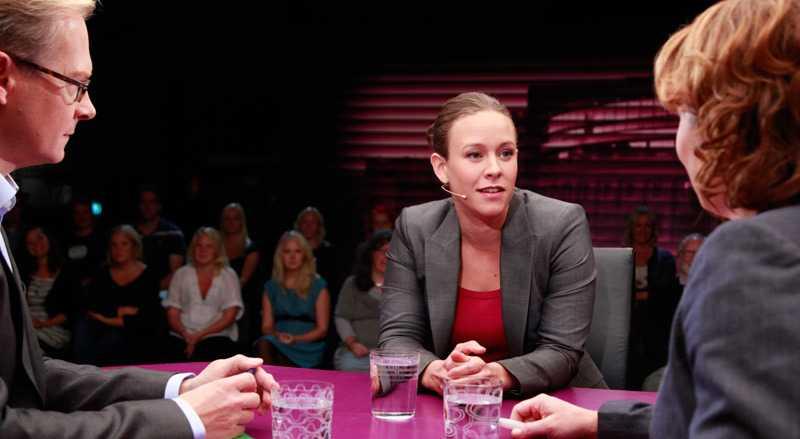 På torsdagen var det Maria Wetterstrand, språkrör för Miljöpartiet, som blev utfrågad av SVT:s Mats Knutsson och Anna Hedenmo.