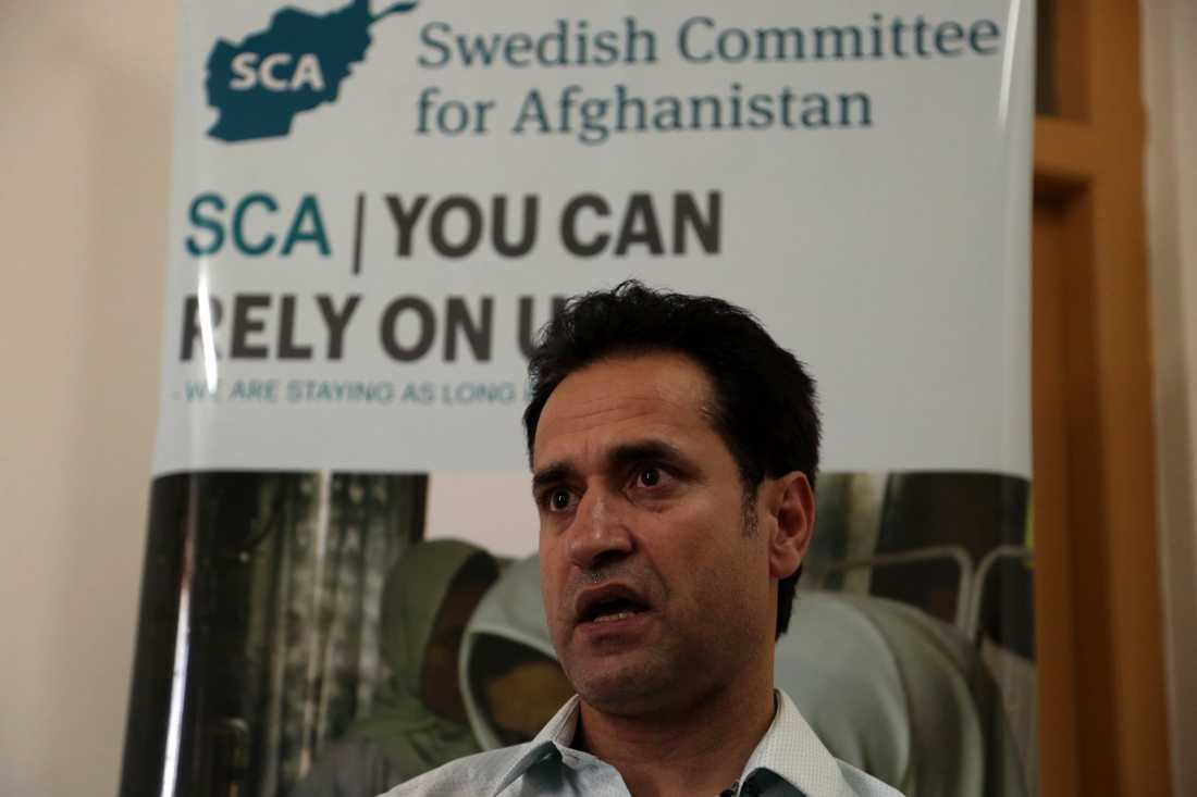 Ahmad Khalid Fahim är programchef för Svenska Afghanistankommittén i Afghanistan.