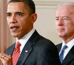 Obama var nöjd efter den historiska segern.