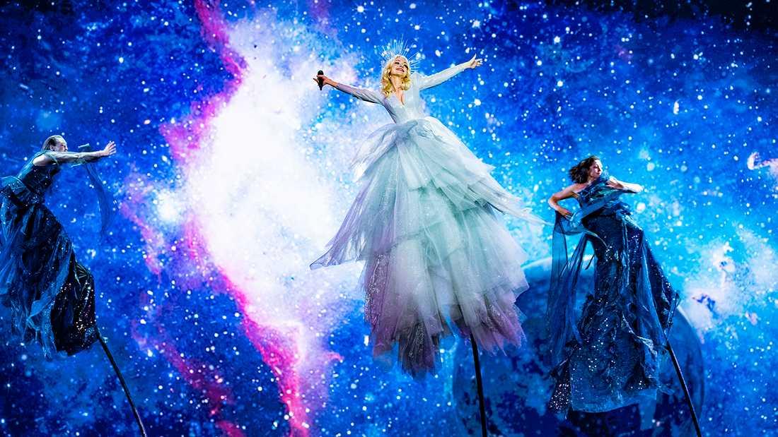 """Eurovison song contest har redan erövrat Australien, i år tävlade Kate Miller-Heidke med """"Zero Gravity"""" och slutade nia finalen."""