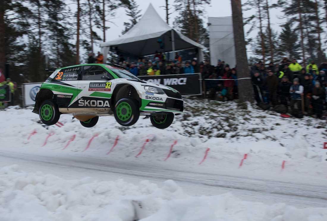 Pontus Tidemand i Svenska Rallyt 2017