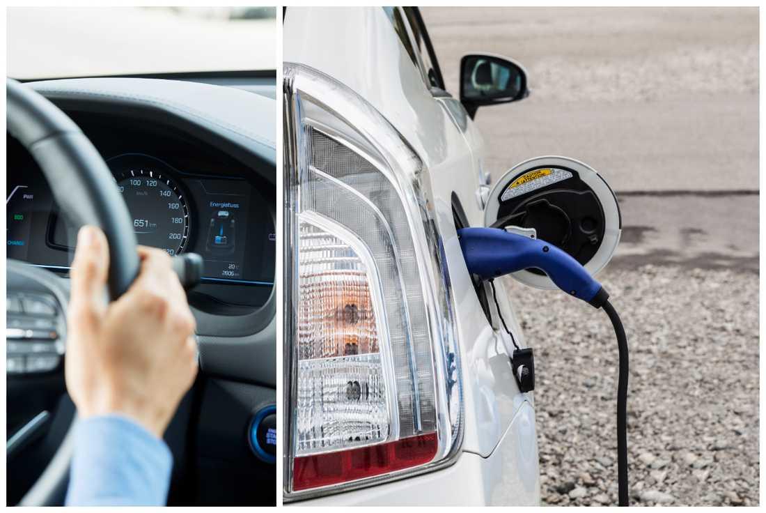 Hybriden tar över marknadsandelar från dieselbilen som minskar.