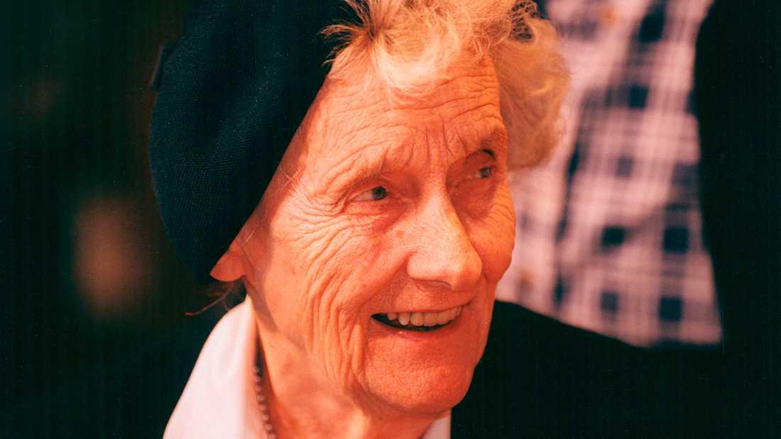 Astrid Lindgren (1907–2002).