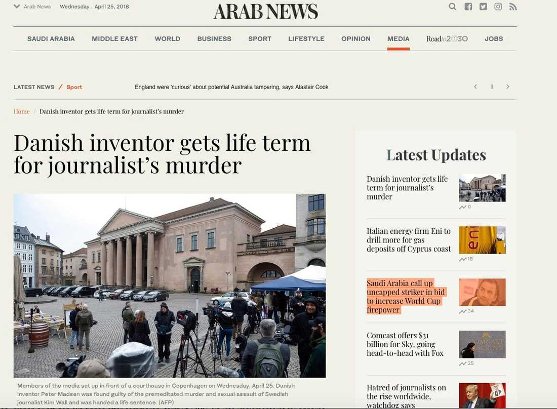 Arab News (Mellanöstern)