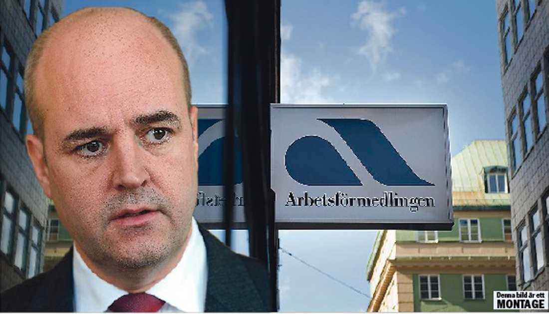 """betalar ut miljarder I Reinfeldt och Borgs """"arbetslinje"""" är arbetslösheten ett individuellt problem och därför betalar Arbetsförmedlingen ut 4,7 miljarder till jobbcoacher för att de ska ge arbetslösa lite tåga och jävlaranamma."""