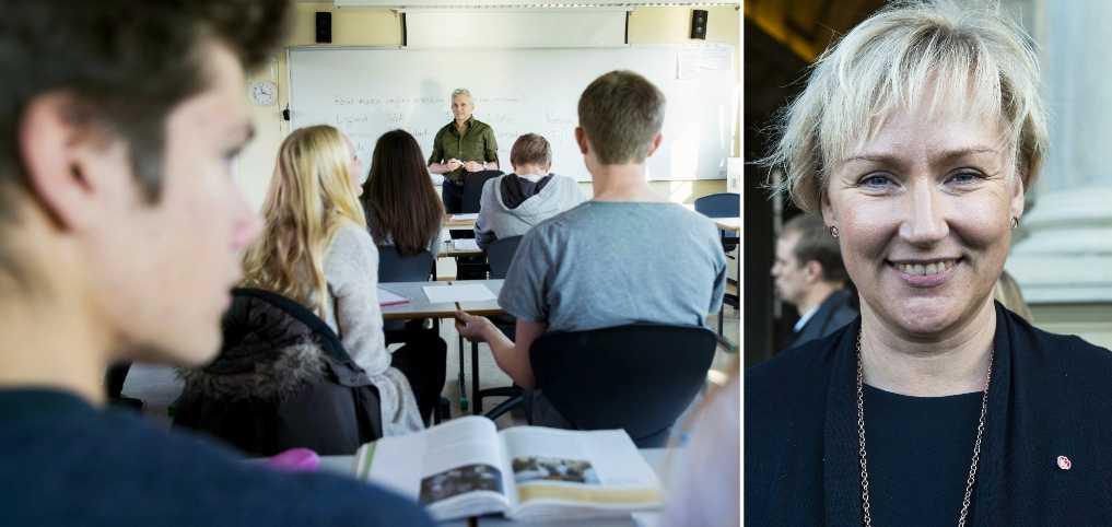 60 000 lärare beräknas få höjd lön i satsningen, skriver debattören.