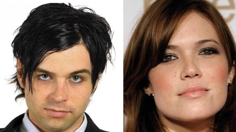 Ryan Adams och Mandy Moore.