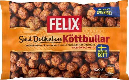 Små delikatessköttbullar är en av Findus storsäljare