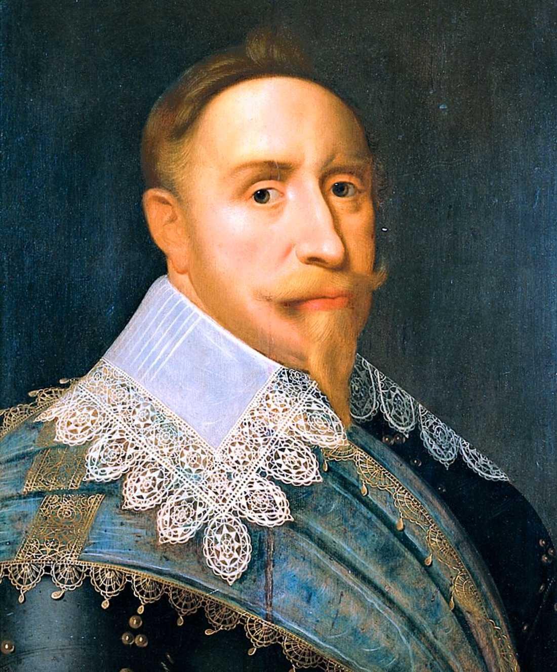 Gustav II Adolf stupade i dimman i Lütsen.