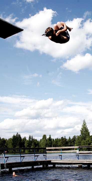 BADVÄDER Under första halvan av augusti väntas vädret bli ostadigt men sedan kommer sommaren tillbaka.