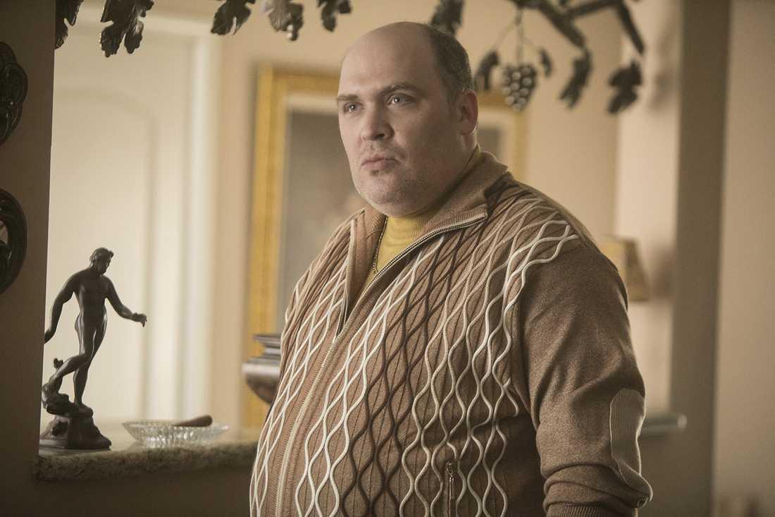 """Glenn Fleshler som tjetjenske maffialedaren Goran Pazar i komediserien """"Barry""""."""