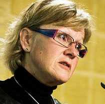 Infrastrukturminister Åsa Torstensson.