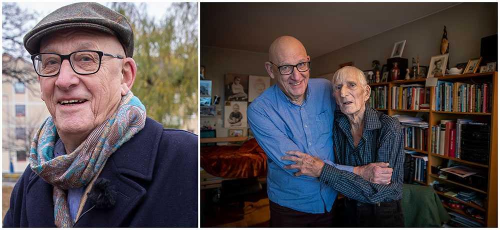 Som treåring höll Lars Sjövall på att drunkna i kanalen i Kristianstad. Då dök grönsaksbudet Kjell Nilsson ner i vattnet och räddade Lars liv. I alla år Lars undrat vem den okände unge mannen är. 74 år senare fick de två äntligen träffa varandra igen.