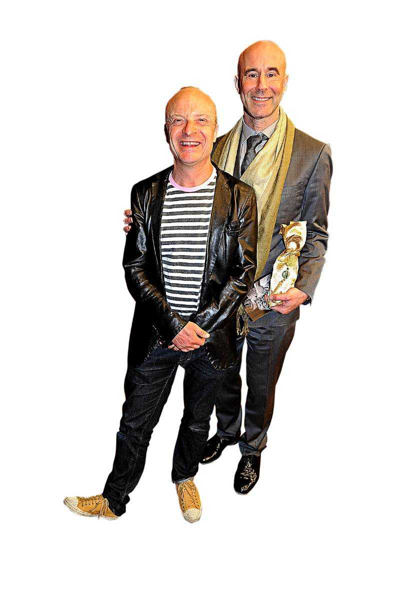 Jonas och Mark.