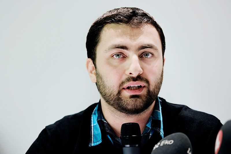 """Omar Mustafa, ordförande för Islamiska förbundet som terrorlistats av Förenade Arabemiraten: """"Löjeväckande""""."""