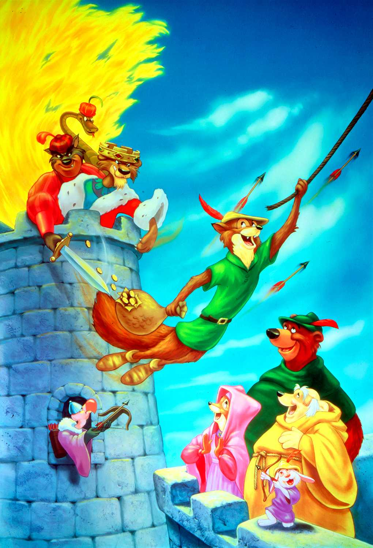 "Ingvar Kjellson gjorde rösten till prins John i Disneys ""Robin Hood""."