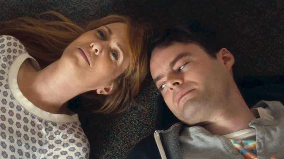 """Kristen Wiig och Bill Hader i """"The skeleton twins"""" (2014)."""