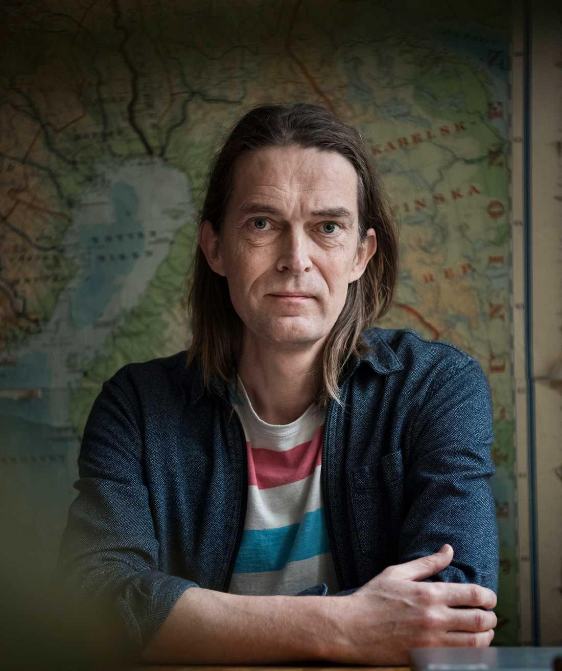 """Sven Anders Johansson är litteraturredaktör för Aftonbladet Kultur och aktuell med boken """"Litteraturens slut""""."""