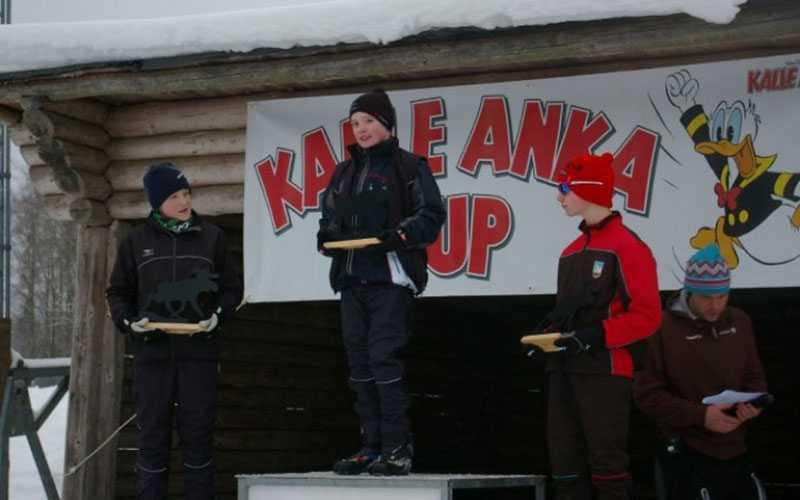 En 13-årig Sebastian Samuelsson vann Kalle Anka cup i Husqvarna7.