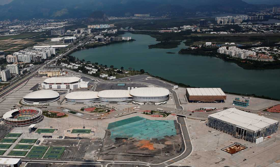 Olympiska parken.