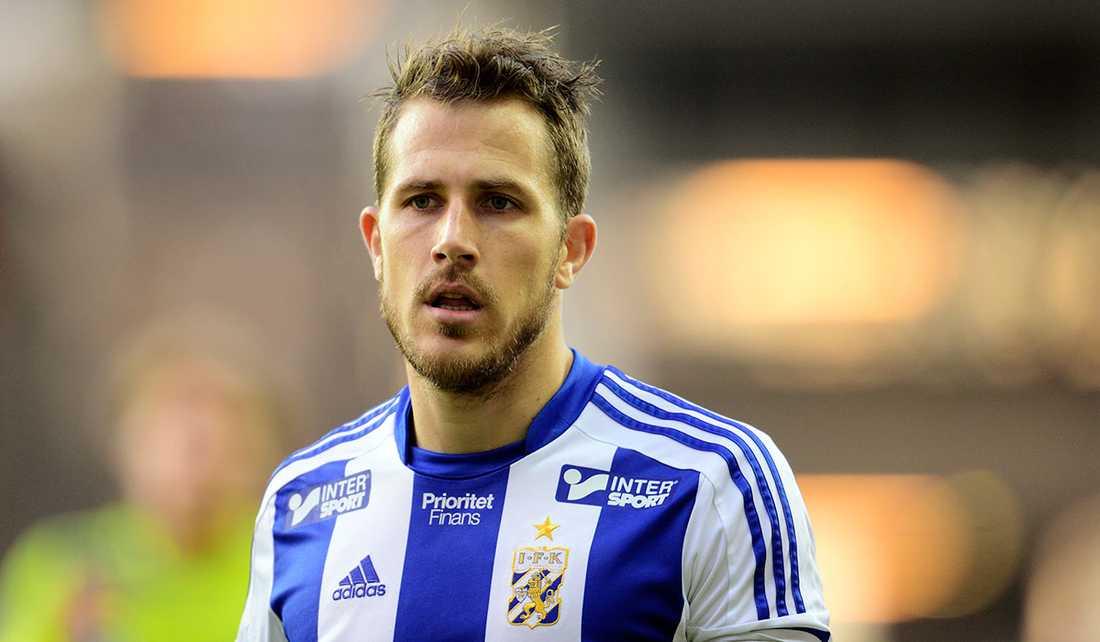 Tobias Hysén, här i IFK Göteborg-tröjan.