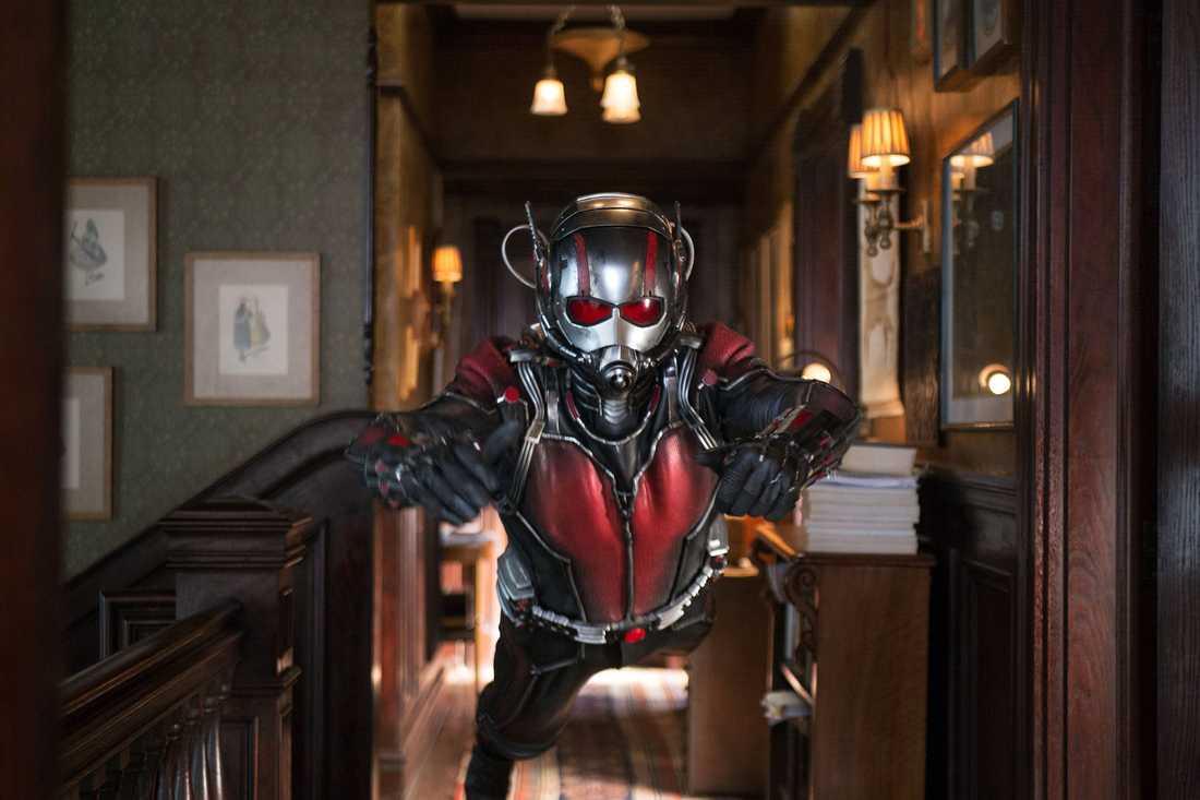 "Paul Rudd som ""Ant-Man""."
