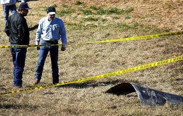 LARM I FLERA DELSTATER Nedfall hittades på ett stort område i Texas. Även fler delstater slog larm.