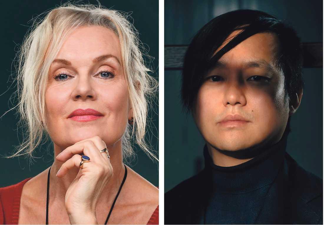 Christina Herrströms och Patrik Lundbergs romaner har våldet mot kvinnor gemensamt – och hur samhället blundar, banaliserar eller byter ämne.