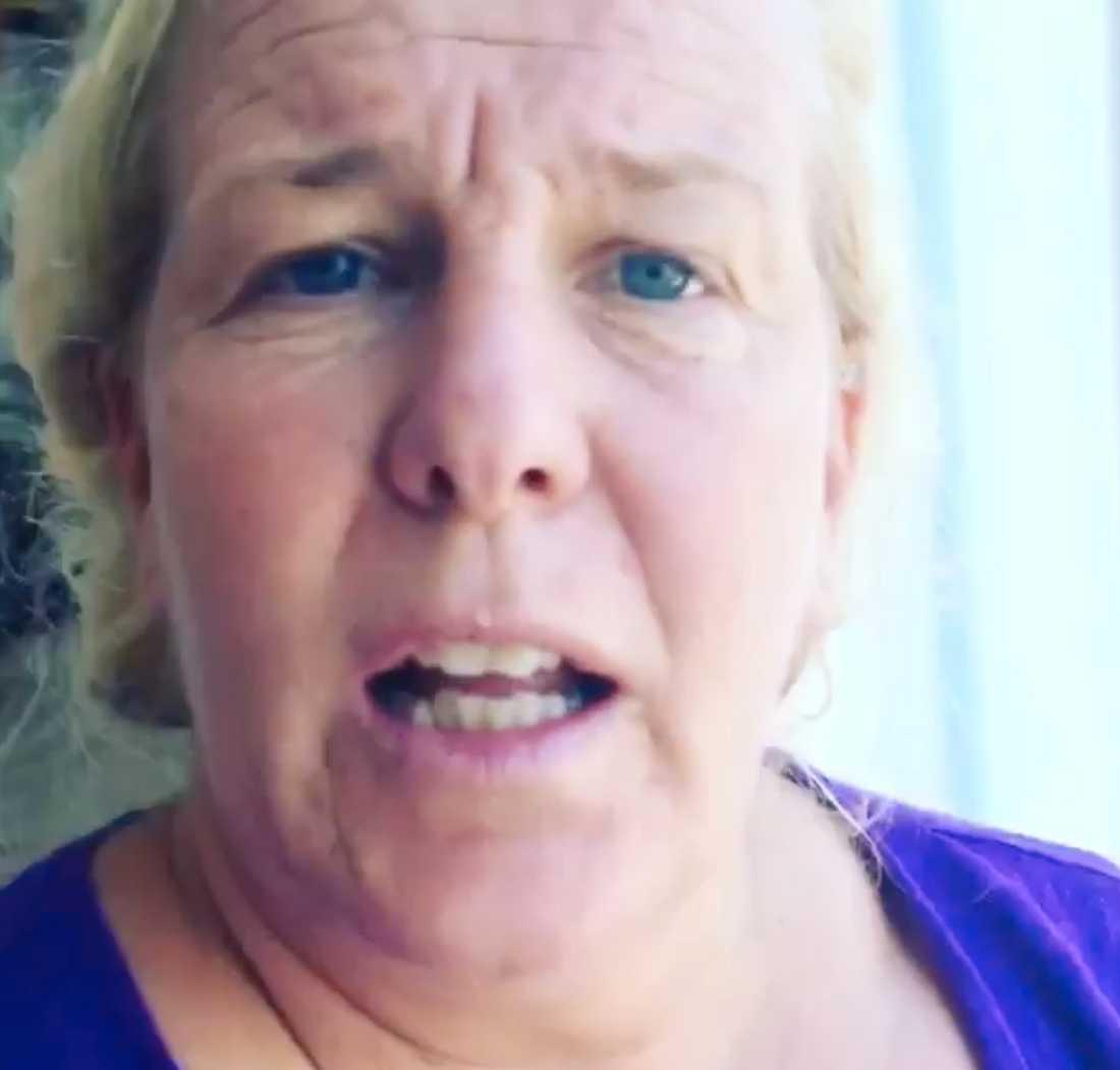 Mia Parnevik har återvänt till sitt hus i Florida