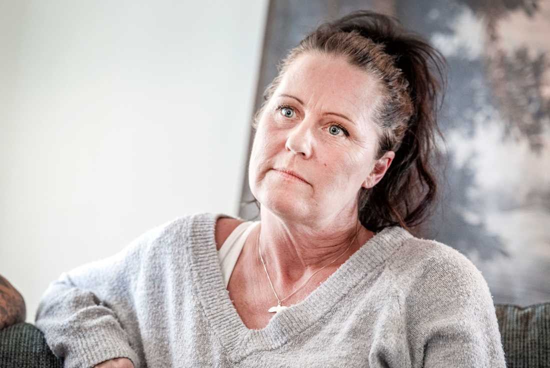 Anna Werner, mamma till Jesper Fredriksson