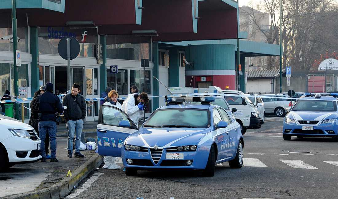 Anis Amri sköts ihjäl i Milano.