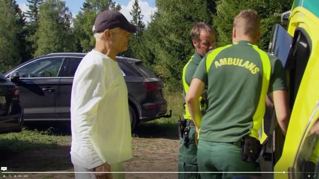 Skärmavbild på Frank Andersson i Farmen VIP.