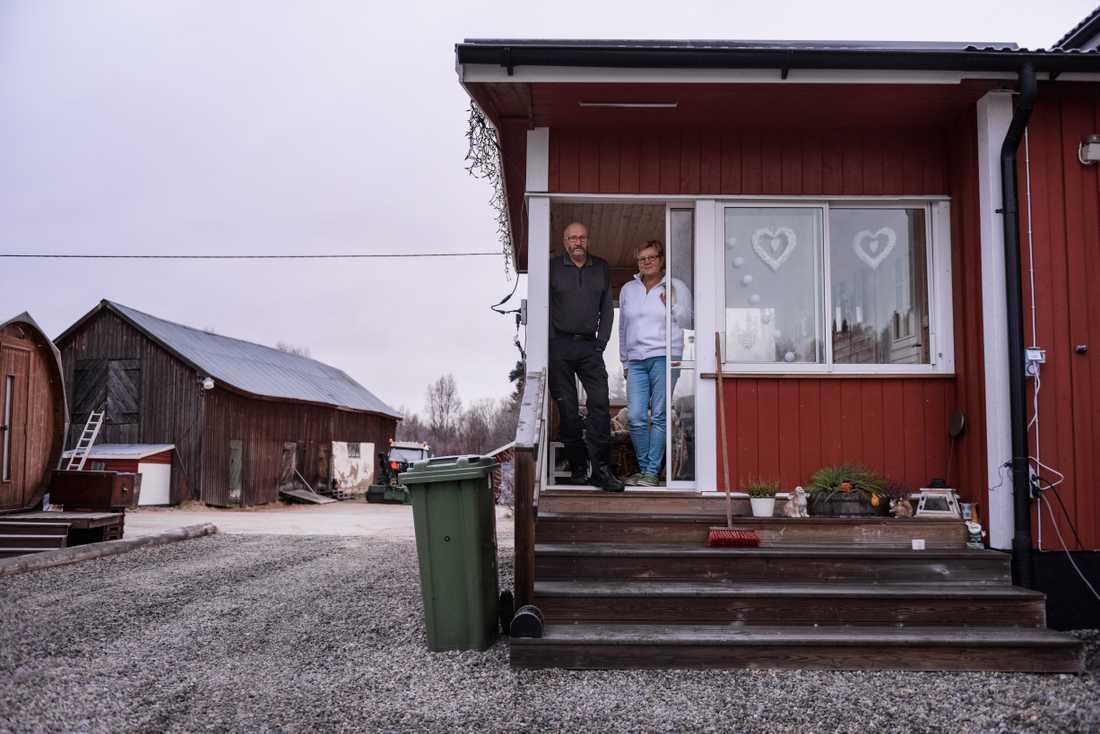Joe och Ulla Persson bor i Svanabyn, söder om Dorotea.