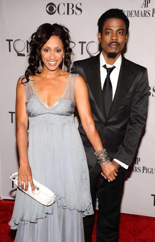 Malaak Compton-Rock och Chris Rock var tidigare gifta
