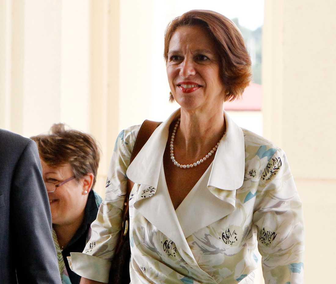 FN:s sändebud till Myanmar, Christine Schraner Burgener. Arkivbild.