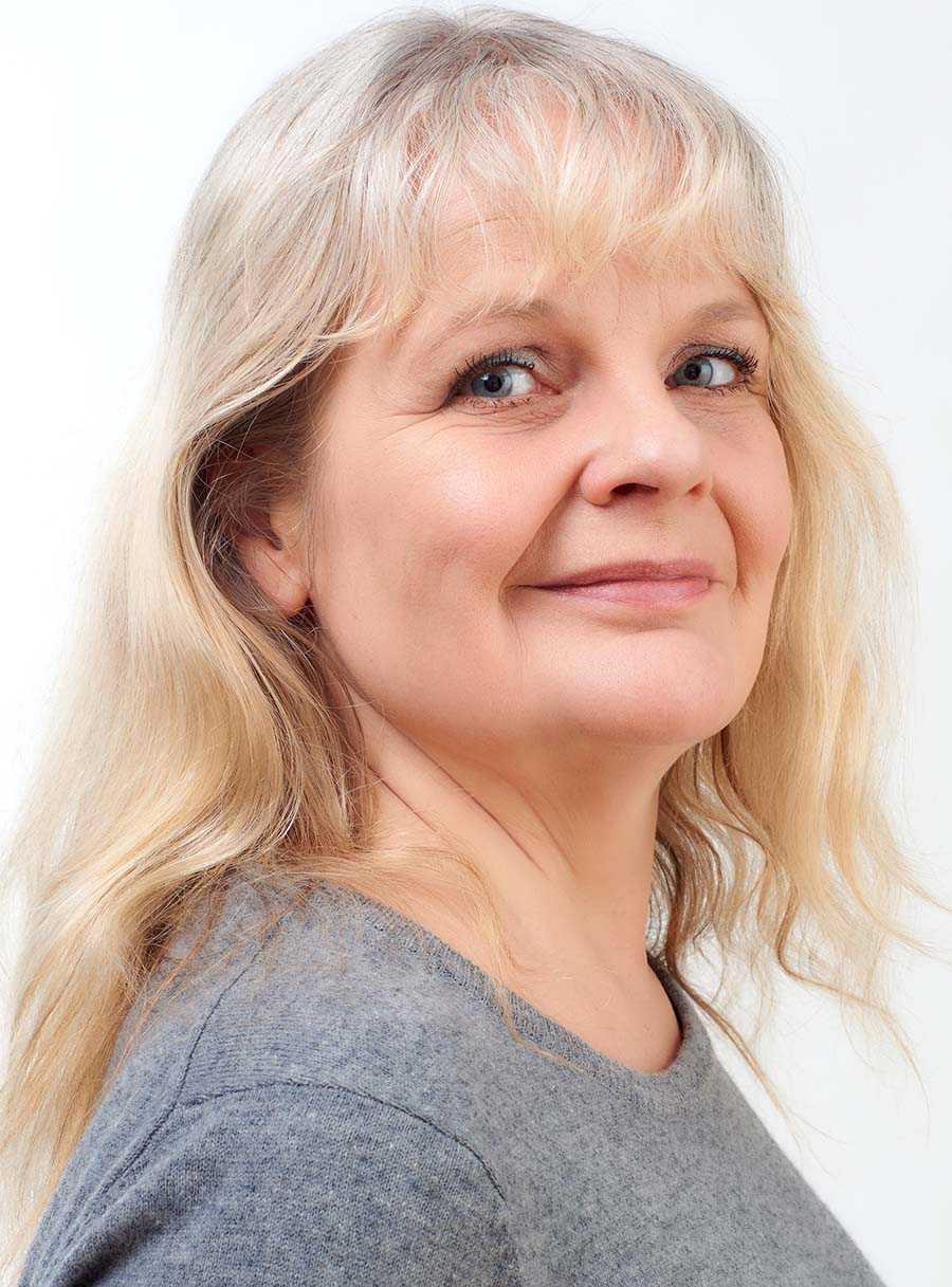 """Maria Küchen, aktuell med """"Rymdens alfabet""""."""